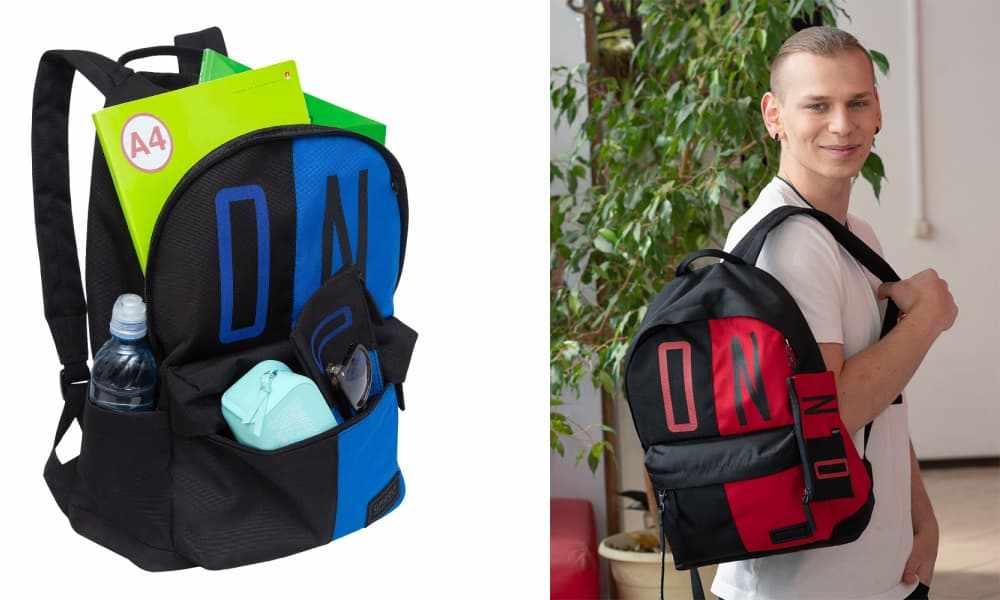Лучший мужской городской рюкзак для студентов производителя GRIZZLY.jpg