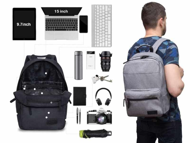 Лучший офисный городской рюкзак для мужчин фирмы GRIZZLY.jpg