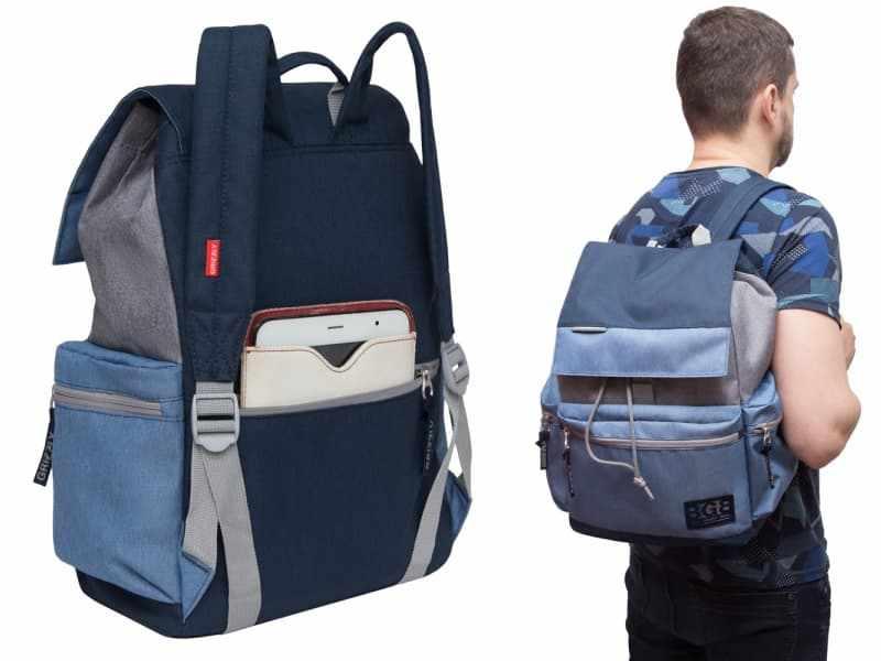 Лучший мужской городской рюкзак для путешествий бренда GRIZZLY.jpg