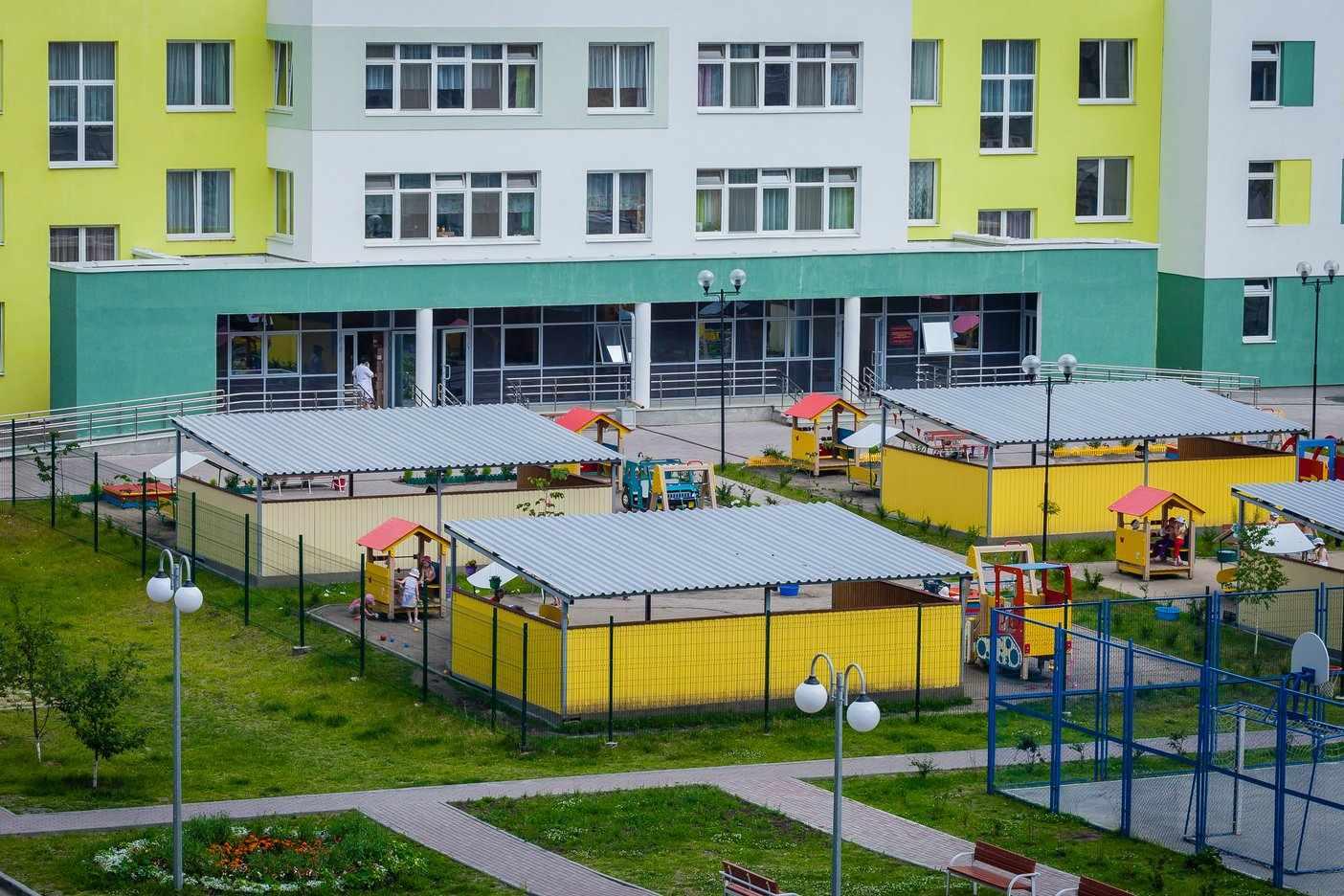 Новый муниципальный детский сад прямо во дворе