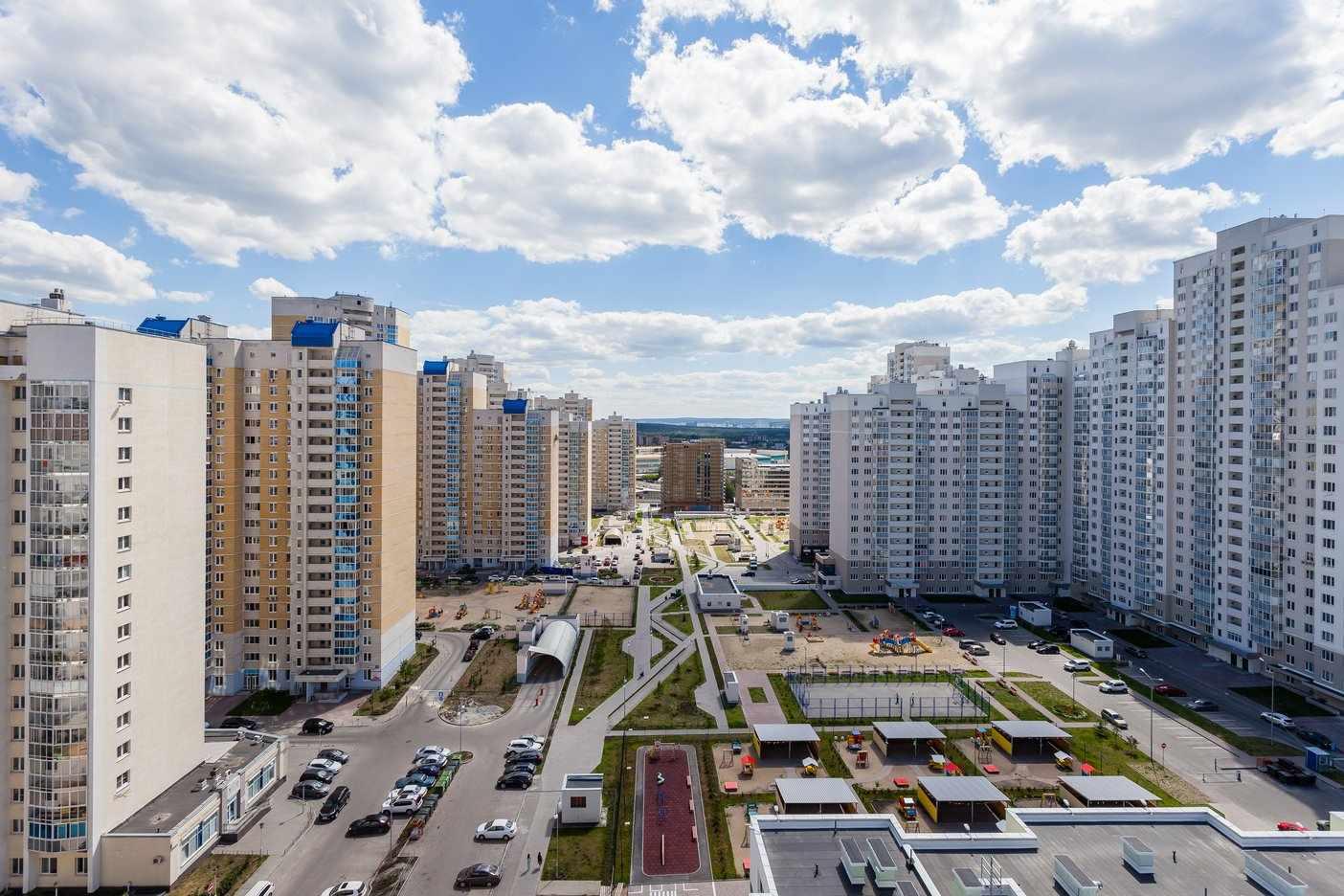 Готовый район в тихом центре Екатеринбурга